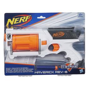 Nerf Maverick Rev-6 - Hasbro - Frete Grátis