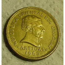 Uruguay:moneda De 5 Pesos- Año 1965