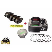 Kit Aumento Cilindrada 190cc + Comando Preparado Titan 150