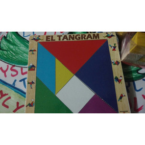 Tangram De Madera Juego Didactico Para Armar Figur Lyly Toys