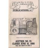 Catalogo De Subasta Americano U.s.a. 1990 Coca Cola Nostagia