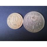 Moneda Portugal 1 Escudo Alpaca 1929 Excelente Estado (c24)