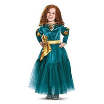 Disfraz Para Niña Mérida Disfraz De Lujo Disney Princess Br