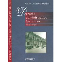 Libro Derecho Administrativo Primer Curso Ed Oxford