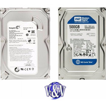 Disco Duro Sata 500gb Western Digital/seagate Pc, Dvr