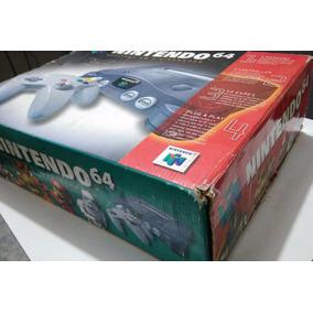 Nintendo 64 + Controle + Caixa Original