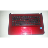 Palmrest Hp 14-d020la Con Teclado Y Touch Ojo Tiene Detalle