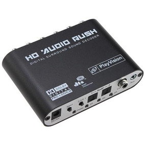 Adaptador Conversor Audio Digital Para Analógico 2.1 Ou 5.1