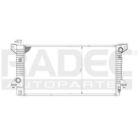 Radiador Ford Expedition 2007-2008 V8 4.6/5.4lts C/aire Aut