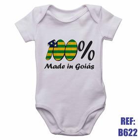 Body Infantil 100% Made In Goiás Bebê Personalizado