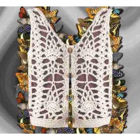 Chalequito Crochet Tejido Otoño Invierno Varios Talles