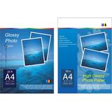 Papel Fotografico Glossy -super A 3 + 200 Gs 500 Hojas