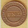 Moneda Ficha Token Colombia American Cofee Scarce Coleccion