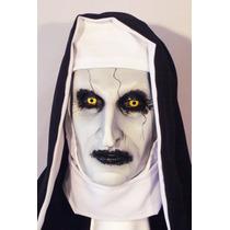 Monja De El Conjuro Máscara De Látex Halloween Terror