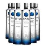 Vodka Ciroc Natural 750ml Caixa Com 6 Unidades
