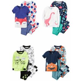 Pijamas 4 Piezas Carters Importados Usa Bebes Y Niños