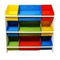 Organizador Colorido De Brinquedos Infantil