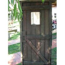 Puerta Antigua De Viraro Para Restaurar