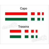 Adesivo Faixa Capo E Traseira Fiat Palio Italia Imp286