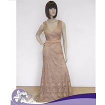 Vestido De Festa/casamento/madrinha/mãe De Noiva/p-entrega