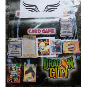 Figurinnhas Cards Dragon City Ball Pou Pokemon (4000 Unid)