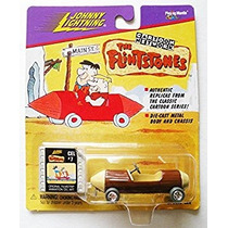 Juego Car Johnny Lightning Cartoon Network La Flinstones Pa