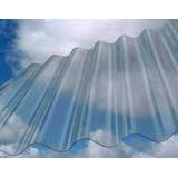 Chapa Plastica Cristal Por M2 Garantia 3 Años De Luz