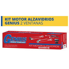 Kit De Motores Alza Vidrios De 2 Ventanas Genius , Playsound