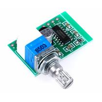 Pam8403 Amplificador Digital 5v 2 Canais 3w+3w Potenciômetro
