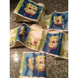 Combo Sponge Bob / Bob Esponja / Juegos Cinta Decorativa