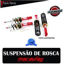 Kit Suspensão Regulável Rosca Macaulay Gm Monza