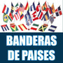 Banderas De Países Y Provincias 60 X 90 Cm Caba Envio Moto