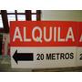 Cartel Plastico Dueño Vende Alquila - Inmobiliarios 100x70