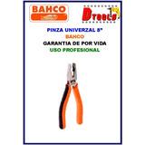 Pinza Universal 8 Bahco Mecanico Matricero Electricista