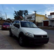 Fiat Strada Working Cabina Simple Color Blanca Entrega Ya