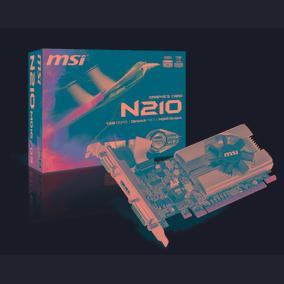 Placa De Vídeo Msi Geforce Gt210 1gb Ddr3 64bi Mania Virtual