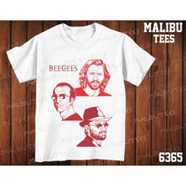 Camiseta Bee Gees Rock Banda Classic Rock Heavy Metal