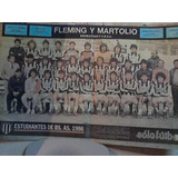 Club Estudiantes De Bs As 1986 Poster Revista Solo Futbol