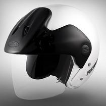 Casco Moto Abierto Cid Aero 3 Color Blanco Consulte Talle