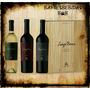 Luigi Bosca Estuche Cofre De Madera X3 Botellas De 750ml-