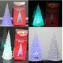 Árvore De Natal Acrilica 22,5cm Com Led - Temático Frozen