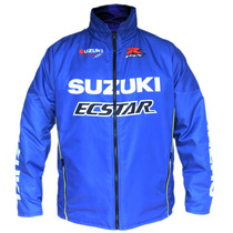 Jaqueta Nylon Suzuki Racing Casual Motovelocidade Motogp
