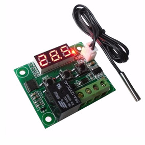 Kit Incubacion Termostato 12v Higrometro Con Sonda + Envio
