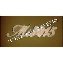 Frases Letras Numeros En Telgopor Blanco Somos Fabricantes