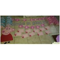 Peppa Pig Combo Para Fiestas Infantiles En Goma Eva