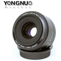 Lente Yongnuo 35mm Para Canon Yn 35mm F2 + Nf