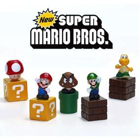 Super Mario Bros Bonecos 5cm