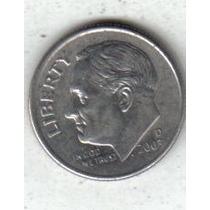 Estados Unidos Moneda De 1 Dime Año 2003 D !!!!!!!
