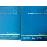 2 Libros Manuales De Taller: Mercedes Benz 321-322 -1959