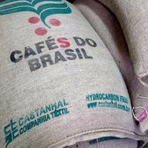 Bolsa Arpillera Café Pack X10 Unidades - Ideales Decoración.